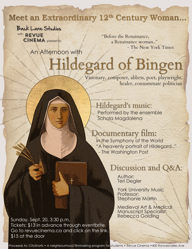 the life and works of hidegard of bingen Hildegard von bingen saw many visions during her life — sights, sounds, tastes and smells she believed were messages from god she called these visions the shades of the living light kept these divine messages to herself, understandably, until age 42, when god sent her a more pointed message .