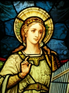 st cecilia window